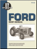 Ford I&T Tractor Service Manual FO-20 (SKU: FO20-0872880923)