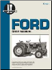 Ford I&T Tractor Service Manual FO-201 (SKU: FO201-0872883671)