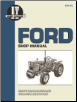 Ford I&T Tractor Service Manual FO-44 (SKU: FO44-0872884333)