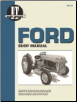 Ford I&T Tractor Service Manual FO-4A (SKU: FO4A-0872887537)