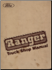 1984 Ford Ranger and Bronco II Truck Shop Manual (SKU: FPS12013A)
