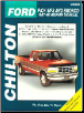 Vintage Edition 1987 - 1996 Ford F150 F250 F350 Super Duty Pick-Ups Bronco Chilton's Total Car Care Manual (SKU: 0801988284)