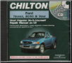 1986 - 2000 Ford Manual on CD-ROM: Full-Size Trucks, SUVs, & MiniVans - Ford Service CD-ROM / Chilton CD-ROM (SKU: 1401880495)