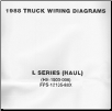 1988 Ford Medium / Heavy Truck L-Series Wiring Diagrams (Haul Configuration) (SKU: FPS1213588X)