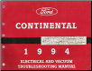 1994 Lincoln Continental  Factory Electrical & Vacuum Troubleshooting Manual (SKU: FPS1217294)