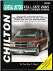 1987 - 1997 Chevrolet & GMC 1/2, 3/4 & 1 Ton Vans Chilton's Total Car Care Manual (SKU: 0801988195)