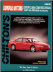 1997 - 2000 Buick Century, Regal, Chevy Lumina, Monte Carlo, Olds Cutlass Supreme & Pontiac Grand Prix, Intrigue Chilton's Total Car Care Manual (SKU: 0801993172)