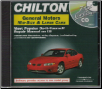 1982 - 2000 Chilton's GM Full-Size & Mid-Size Cars Repair CD-ROM (SKU: 1401880533)