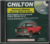 1982 - 1999 GM Trucks, Vans, & SUVs Repair CD-ROM (SKU: 140188055X)
