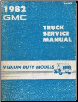 1982 GMC Medium Duty Truck Service Manual (SKU: X8233)