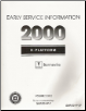 2000 Pontiac Bonneville (H Platform) Service Manual - 2 Volume Set (SKU: GMP00HP1P-2P)