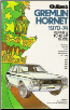 1970 - 1974 American Motors Gremlin, Hornet, SST, Sportabout, Hatchback, SC / 360, X Chilton's Repair & Tune-up Guide (SKU: 0801959942)