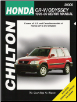 1995 - 2000 Honda Cr-V  & Odyssey Chilton's Total Car Care Manual (SKU: 080199313X)