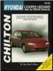 1994 - 1998 Hyundai Accent, Elantra, Excel, Scoupe, Sonata & Tiburon Chilton's Total Car Care Manual (SKU: 0801989531)