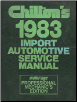 1976 - 1983 Chilton's Import Auto Service Manual, Shop Edition (SKU: 0801973503)