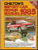 1978 - 1985 Chilton's Import Auto Repair Manual (SKU: 0801974739)