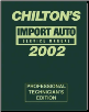 2002 Chilton's Import Auto Service Manual, Shop Edition (1998 - 2001 Year coverage) (SKU: 0801993474)