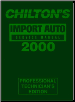1996 - 2000 Chilton's Import Auto Service Manual, Shop Edition (SKU: 0801993016)
