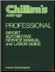 1973 - 1979 Chilton's Import Service Manual & Labor Guide (SKU: 0801968089)