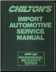 1982 - 1989 Chilton's Import Auto Service Manual, Shop Edition (SKU: 0801979358)