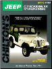 1971 - 1986 Jeep CJ, Scrambler & Wrangler Chilton's Total Car Care Manual (SKU: 0801985366)
