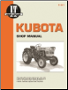 Kubota I&T Tractor Service Manual K-201 (SKU: K201-0872886468)