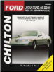 1988 - 2000 Lincoln Coupes & Sedans Chilton's Total Car Care Manual (SKU: 0801993148)
