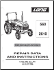 Long 560, 2610 Tractor Service Manual (SKU: LO-S-2610)