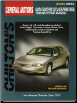 1988 - 1996 Chevrolet Lumina, Pontiac Grand Prix, Oldsmobile Cutlass Supreme & Buick Regal Chilton's Total Car Care Manual (SKU: 0801988004)