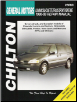 1990 - 1999 Chevrolet Lumina & Venture, Olds Silhouette, Pontiac Trans Sport & Montana (APV's & Minivans) Chilton's Total Car Care Manual (SKU: 0801991099)