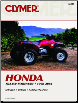1998 - 2004 Honda TRX450 Foreman Clymer ATV Service, Repair, Maintenance Manual (SKU: M205-0892878967)