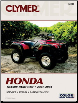 2001 - 2004 Honda TRX500 Foreman, Rubicon Clymer ATV Service, Repair, Maintenance Manual (SKU: M210-0892879203)