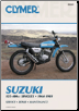1964 - 1981 Suzuki 125-400cc Clymer Repair Manual (SKU: M369-0892872802)