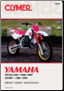 1985 - 1987 Yamaha YZ125 & YZ250,  1985 - 1990 YZ490 Clymer Repair Manual (SKU: M390-0892876093)