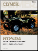 1995 - 2003 Honda TRX400 Foreman Clymer ATV Service, Repair, Maintenance Manual (SKU: M4593-0892879262)