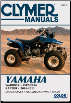 2004-2013 Yamaha YFM350S Raptor & 1987-2004 YFM350X Warrior Clymer ATV Service, Repair, Maintenance Manual (SKU: M4875-9781620922194)