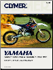 1994 - 1998 Yamaha YZ250 & 1994 - 1997 WR250Z Clymer Repair Manual (SKU: M498-0892877472)