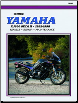 1992 - 1998 Yamaha XJ600 Seca II / Diversion Clymer Repair Manual (SKU: M494-0892877316)