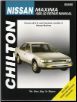 1985 - 1992 Nissan Maxima, Chilton's Total Car Care Manual (SKU: 0801982618)