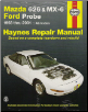 1993 - 2002 Mazda 626, MX-6 & Ford Probe, Haynes Repair Manual (SKU: 1563929805)