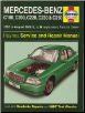 1993 - 2000 Mercedes-Benz C-Class Gas and Diesel Haynes Repair Manual (SKU: 9780857339881)