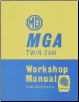 1958 - 1960 MGA Twin Cam Workshop Manual (SKU: BENTLEY-YMWT)