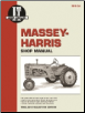 Massey-Harris I&T Tractor Service Manual MH-5A (SKU: MH5A-0872885550)