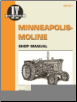 Minneapolis-Moline I&T Tractor Service Manual MM-201 (SKU: MM201-0872883779)