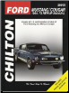 1964 - 1973 Ford Mustang & Mercury Cougar Chilton's Total Car Care Manual (SKU: 0801990602)