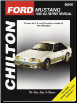 1989 - 1993 Ford Mustang Chilton's Total Car Care Manual (SKU: 0801988152)