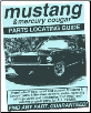 Mustang & Cougar Parts Locating Guide (SKU: 1891752286)