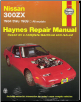 1984 - 1989 Nissan 300ZX & 300ZX Turbo Haynes Repair Manual (SKU: 1850105634)