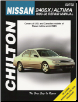 1993 - 1998 Nissan 240SX & Altima Chilton's Total Car Care Manual (SKU: 0801989701)