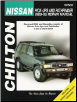 1989 - 1995 Nissan Pick-ups and Pathfinder, Chilton's Total Car Care Manual (SKU: 0801986710)